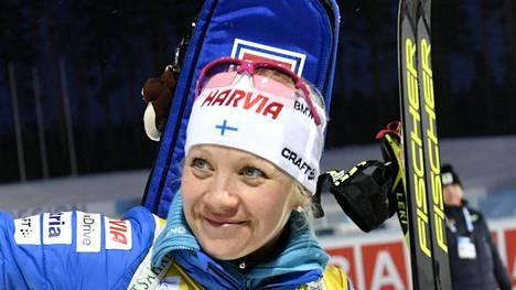 Kaisa Mäkäräinen nosti sijoitustaan, mutta ero maailmancupin kärkeen kasvoi.