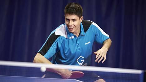 Benedek Oláh voitti pöytätenniksen Finlandia Openin.