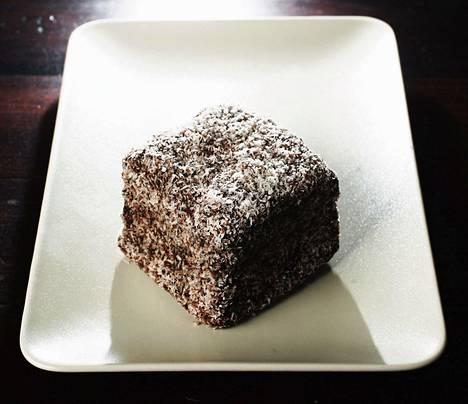 60-vuotiaan naisen kohtaloksi koituneessa kilpailussa syötiin perinteisiä Lamington-leivoksia. Niiden päällä on suklaakuorrutus sekä kookoshiutaleita.