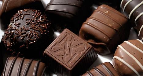 Onneksi kohta on joulu, koska suklaa.