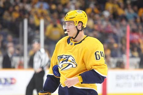 Mikael Granlund kuuluu 13. tammikuuta alkaneella NHL-kaudella Nashvillen organisaatioon.