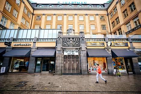 Vaasalainen yökerho on suljettuna toistaiseksi. Vaasan kaupunki on kieltänyt yli 50 ihmisen kokoukset ja julkiset tilaisuudet kolmeksi viikoksi.