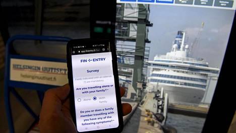 Tammikuun alussa Helsingin Satamassa otettiin käyttöön Finentry-palvelu, josta Suomeen matkaa suunnitteleva saa ajankohtaiset toimintaohjeet sekä tilannekohtaisen ohjauksen koronanäytteenottoon.