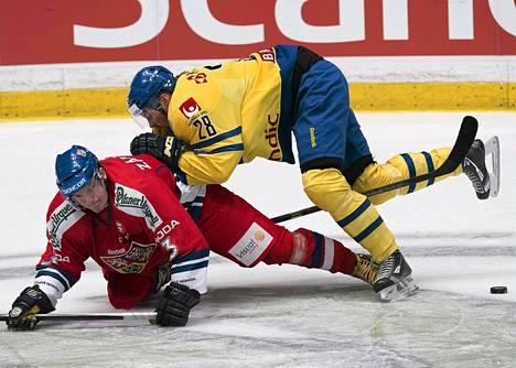 Petr Zamorsky väänsi Dick Axelssonin kanssa Ruotsin turnauksessa 1. toukokuuta.