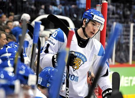 Joonas Järvinen vuoden 2012 MM-kisoissa.