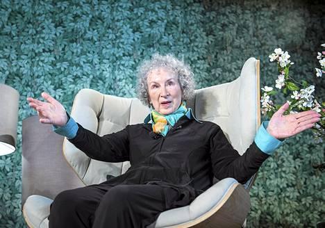 Margaret Atwood Tallinnassa HeadRead festivaaleilla.