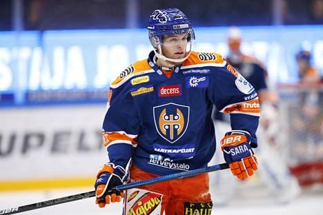 Niko Ojamäki, 20, on takonut pisteitä huimalla tahdilla.
