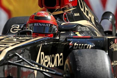 Kimi Räikkönen oli Monacon GP:ssä kymmenes.