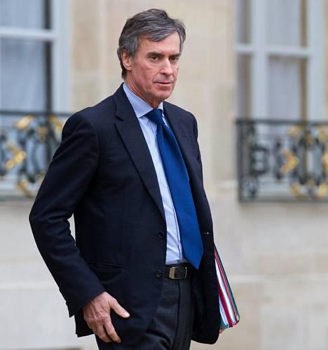 Budjettiministeri Jérôme Cahuzac joutui eroamaan veronkiertoskandaalin vuoksi.
