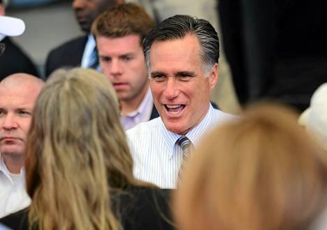 Mitt Romney kampanjoi eilen Hendersonissa Nevadassa.