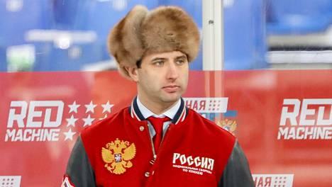 Roman Rotenberg on Venäjän maajoukkueen general manager.
