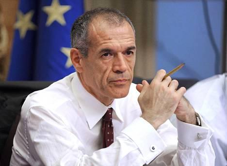 Hallitustunnustelijaksi nimetty Carlo Cottarelli.