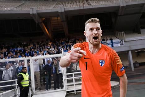 Lucas Hradecky on Suomen maajoukkueen ykköstorjuja.