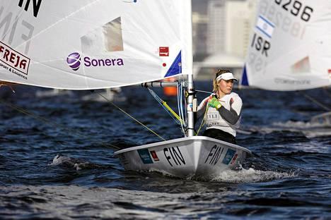 Tuula Tenkasen loppusijoitus Rion esiolympiaregatassa oli viides.