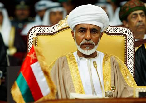Omanin sulttaani Qaboos bin Said al-Said johti maata 49 vuotta.