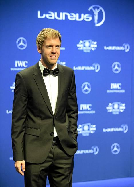 Sebastian Vettel palkittiin vuoden parhaana urheilijana.