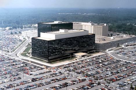 Ilmakuva NSA:n päämajasta Fort Meadessa Marylandissa.