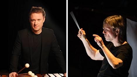 Colin Currie ja Esa-Pekka Salonen.