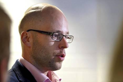 Keskusrikospoliisin rikoskomisario, tutkinnanjohtaja Antti Perälä.