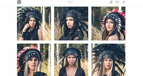 Kuvakaappaus Miss Helsinki -kisojen viralliselta Instagram-tililtä.