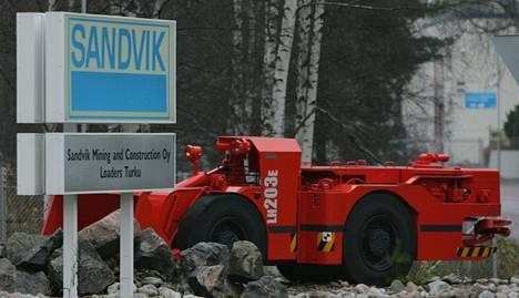 Toiseksi suurin tuen saaja oli Sandvik Mining and Construction. Yhtiö valmistaa kaivos- ja rakennuskoneita.