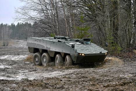 Patrian  AMV (Armoured Modular Vehicle).