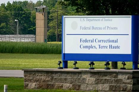 Liittovaltion vankila Terre Hautessa, Indianassa kuvattuna toukokuussa 2019.