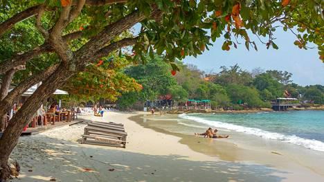 Hiekkaranta Koh Sametin saarella Thaimaassa.