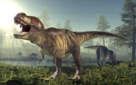 Tyrannosauruksella oli pienen näköiset eturaajat muuhun kehoon verrattuna.