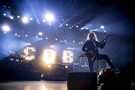 Children of Bodomin jäähyväiskeikka järjestettiin Helsingin jäähallissa joulukuussa.