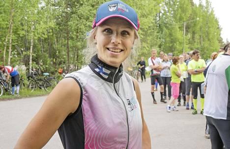 Minna Kauppi voitti maastossa MM-kultaa viimeksi 2012 ja oli pitkään maailman huipulla. Yhteensä hänellä on neljä henkilökohtaista MM-kultaa.