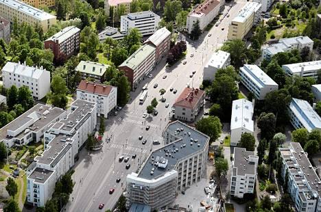 Helsingin Lauttasaarta kesällä 2015.