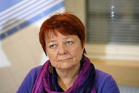 Tarja Cronberg on europarlamentin Iran-delegaation puheenjohtaja.