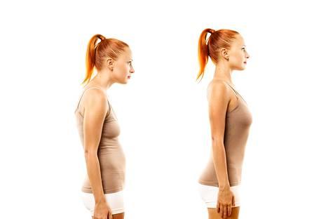 Asiantuntijan mukaan ei ole olemassa terveyden kannalta ideaalia ryhtiä.