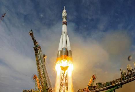 Sojuz-avaruusalus lähti kohti kansainvälistä avaruusasemaa kesäkuussa 2018.