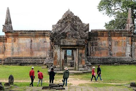 Preah Vihearin temppeli sijaitsee 400 kilometriä Phnom Penistä pohjoiseen.