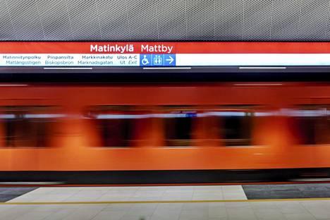 Länsimetron rakentamista jatketaan Matinkylästä länteen lähivuosina.