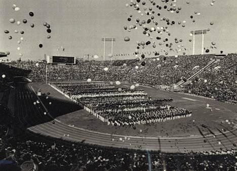 Tokio järjesti kesäolympialaiset edellisen kerran vuonna 1964.