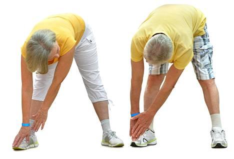 Hyvä fyysinen kunto auttaa 75-vuotiasta elämään 85-vuotiaaksi.