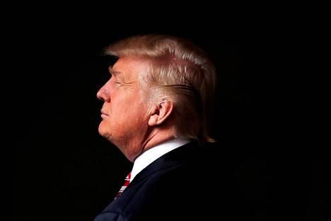 Donald Trump New Yorkissa viime toukokuussa.