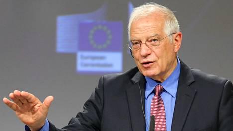 """EU:n ulkopoliittinen johtaja Josep Borrell riensi vakuuttamaan Kiinalle, ettei EU tahdo maan kanssa """"kylmää sotaa""""."""