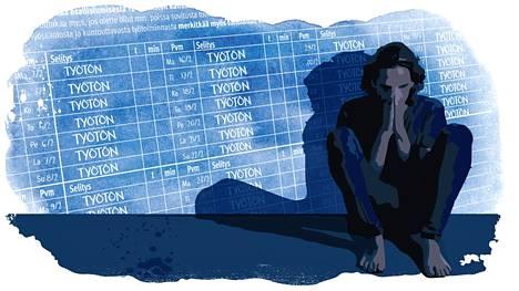 Työttömyys voi aiheuttaa ihmisessä häpeän tunnetta silloinkin, kun irtisanominen ei johdu itsestä.