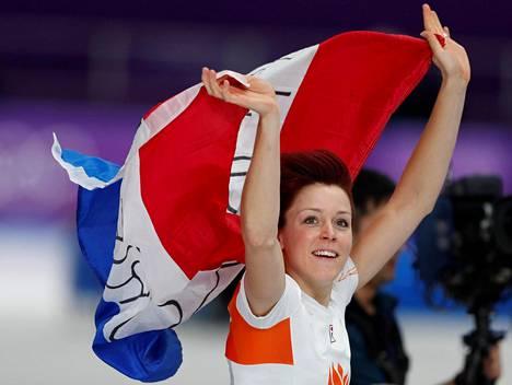 Jorien ter Mors voitti naisten 1000 metrin olympiakultaa.
