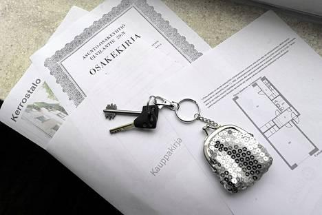 Yhteensä 859 000 asuntokunnalla oli asuntovelkaa viime vuoden lopussa.