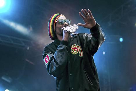 Snoop Dogg esiintyi Suomessa viimeksi vuonna 2012.