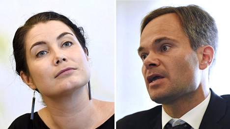 Emma Kari ja Kai Mykkänen