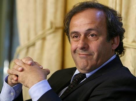 Euroopan jalkapalloliiton puheenjohtaja Michel Platini.