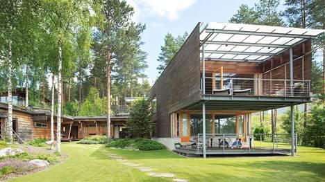 Villa Inkerin on suunnitellut arkkitehti Hannu Kiiskilä.
