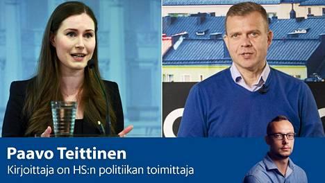 Pääministeri Sanna Marin (sd) piti kokoomuksen Petteri Orpon väitteitä hallituksen koronalinjasta valheellisina.