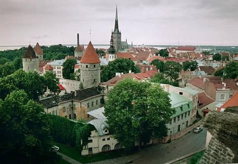 Tallinnan vanha kaupunki.